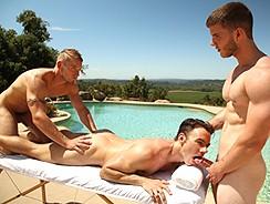 Poolside Massage from Next Door World
