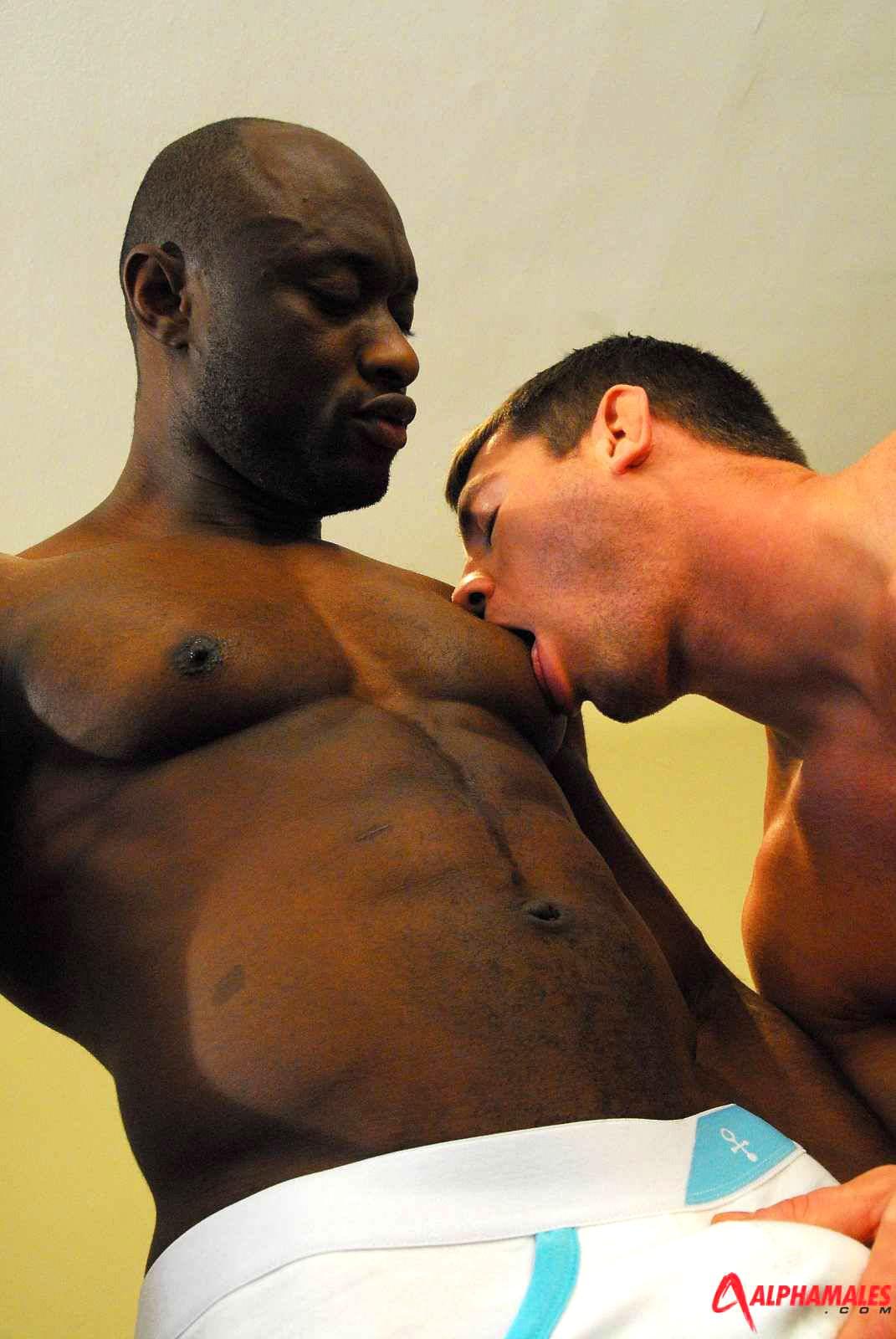 Interracial muscle fuckfest