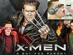 Xmen Gay Sex Movie from Super Gay Hero