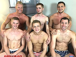 4th Of July Orgy from American Muscle Hunks