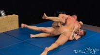 Tomas Vs Nikol Wrestling from William Higgins