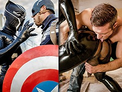 Captain America Gay Xxx from Super Gay Hero