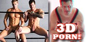 Gay 3d Gym Fuck from Dominic Ford