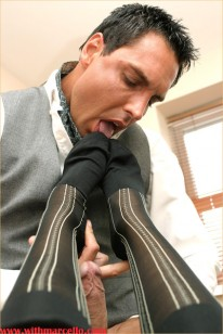 Marcello In Socks from With Marcello