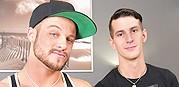 Mikey And Zeno Flip Raw from Broke Straight Boys