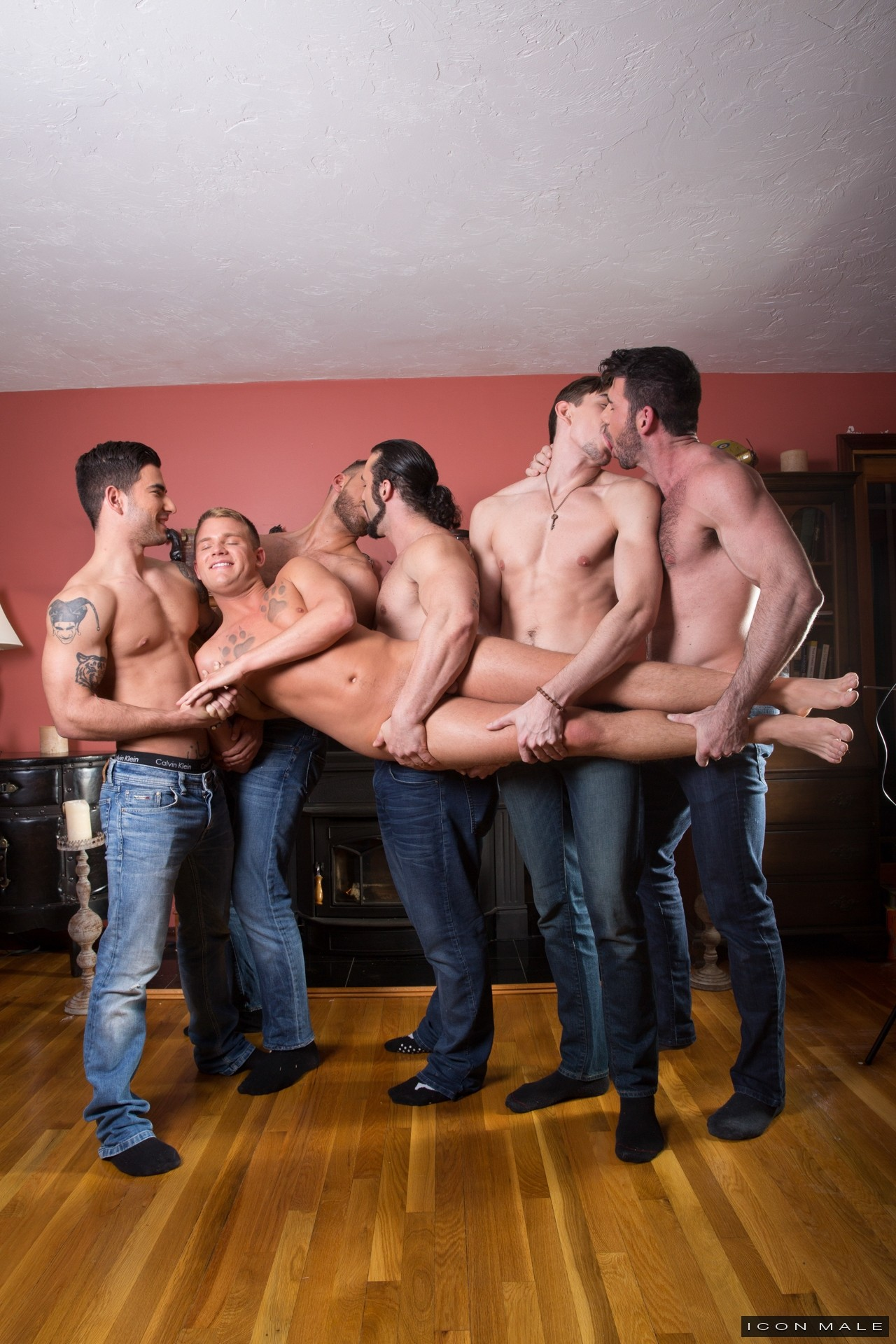 Brandon Wildes First Gangbang from Icon Male at JustUsBoys - Gallery ...