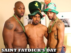 Saint Fatdicks Day from Next Door Ebony