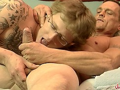 Jeff Gets His First Man Hole from Joeschmoevideos