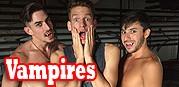 Halloween Vampires Gay Porn from Jason Sparks Live