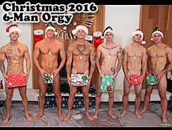 Christmas 2016 6 Man Orgy from Active Duty