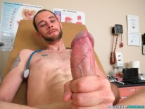 Dr Lee Licks His Own Dick from College Boy Physicals