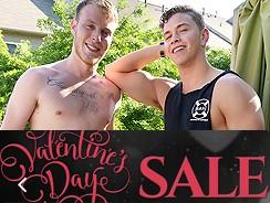 Tanner Valentino And Benjamin from Broke Straight Boys