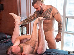 Marc Angelo And Canadad from Hairy And Raw