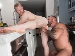 Marc Angelo And Cooper Roads from Hairy And Raw