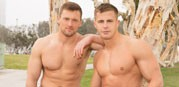 Nixon And Brendan Bareback from Sean Cody