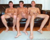 Nathan And Nikolas And Sterling from College Dudes
