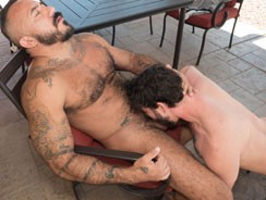 Alessio And Jackson from Hairy And Raw