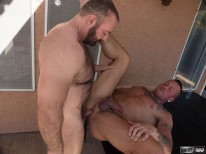 Brad Kalvo And Hugh Hunter from Hairy And Raw