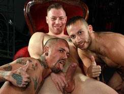 Saxon, Aless And Brent from Uk Naked Men