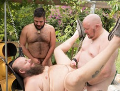 Outdoor Bear Fucking from Bear Films