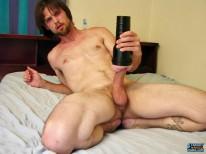 Nolan Ballsdeep In Fleshlight from Straight Naked Thugs