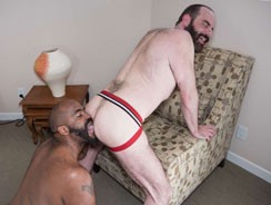 Emmett Frost And Steve Sommer from Hairy And Raw