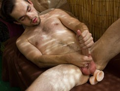 A Dildo For His Tight Hole! from Zack Randall Net