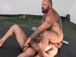 Marc Angelo And Amir Badri from Hairy And Raw