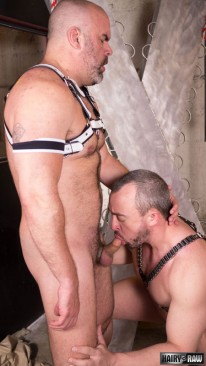 Dante Kirkdale And Eric Schwa from Hairy And Raw