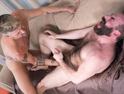 Christian Mattews And Steve from Hairy And Raw