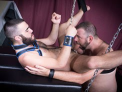 Aiden Storm And Nick Hole from Hairy And Raw