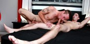 Damien Kyle Fucks Romeo James from Broke Straight Boys