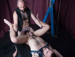 Nick Hole And John Lock from Hairy And Raw