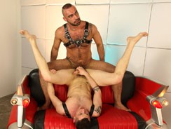 Tony Thorn And Blue Bailey from Uk Naked Men