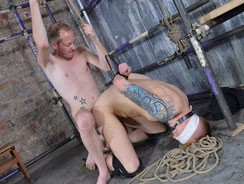 Blindfolded Jock Gets Owned from Boynapped