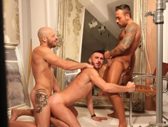 Bruno Fox, Sergi And Georgi from Butch Dixon