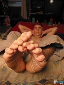 Skinny Str8 Boys Big Feet from Toegasms