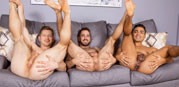 Hector, Deacon And Asher from Sean Cody