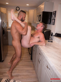 Brian Bonds And Damien Kilaue from Alpha Males