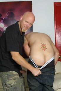 Erich Gets Plowed from Gay Hitchhiker