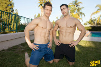 Randy And Deacon Bareback from Sean Cody