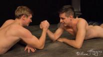 Dan Vs Oliver Wrestling from William Higgins