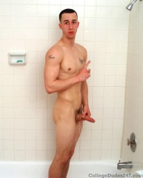 Dudes Shower 2 from College Dudes