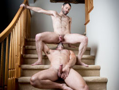 Mason Lear And Dusty Williams from Hairy And Raw