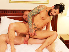Draven Torres And Rocco Steel from Bareback That Hole