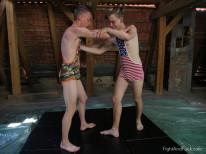 Danny Austin Vs Andrew Kitt from Fight And Fuck