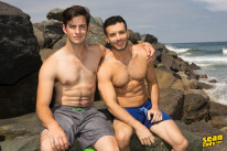 Archie And Manny Bareback from Sean Cody