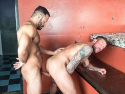 Vinnie Stefano N Hugh Hunter from Alpha Males