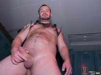 Chip Young In Leather from Hairy And Raw