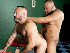 Alessio Romero And Raw Diesel from Alpha Males